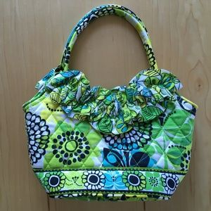 Vera Bradley Limes Up Lily Bag NWOT Bright Floral
